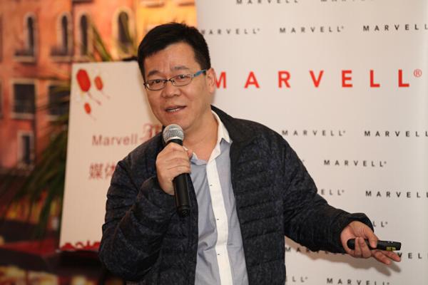 李振峰:在SSD产品线上,Marvell基本上领先对手两到三代